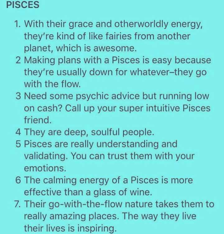 Pin By Thailand Malloy On Pisces Facts Pisces Quotes Pisces Facts Pisces Personality