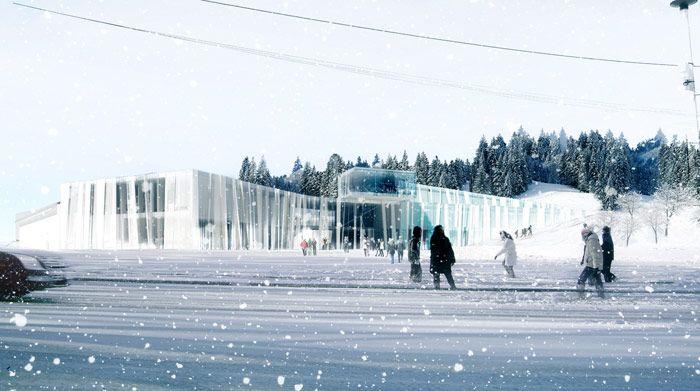 Espace des mondes polaires - Herault Arnod Architectes