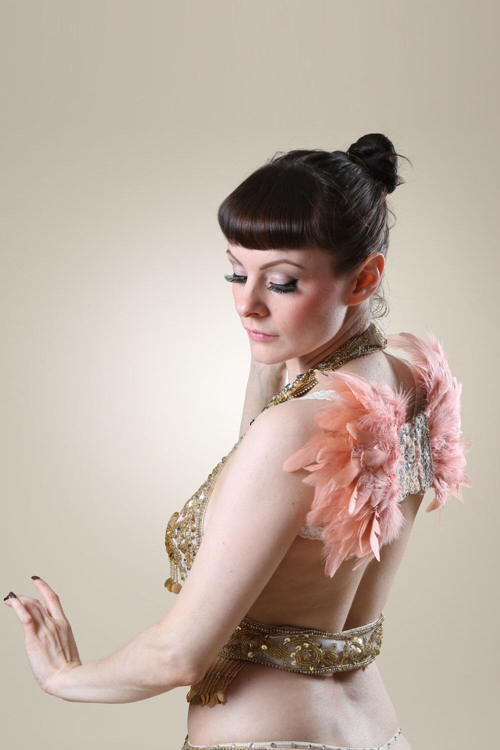 Pink Feather Wings by Talulahblueburlesque on Etsy https://www.etsy.com/dk-en/listing/450259914/pink-feather-wings