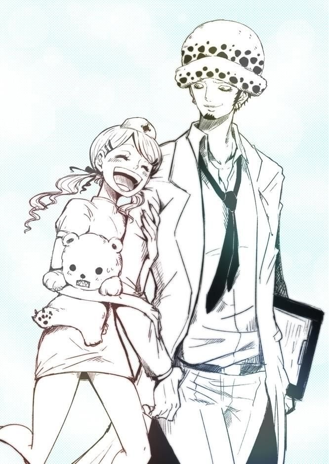 --What could have happened if you where still here with me-- Trafalgar D. Water Law and his sister Lami (Lammy, Lammi, Lamy, Lamie) Bepo One piece