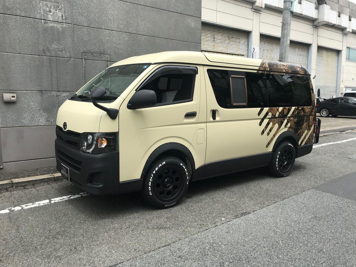 Toyota Hiace Camper カスタムバン バン 車 ハイエース