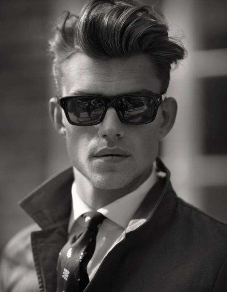 Mens Short Hairstyles Old School Google Search M Pinterest
