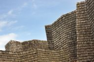 Image of Wood Shingle Roof Architecture Abstract from iStockphoto #7128941