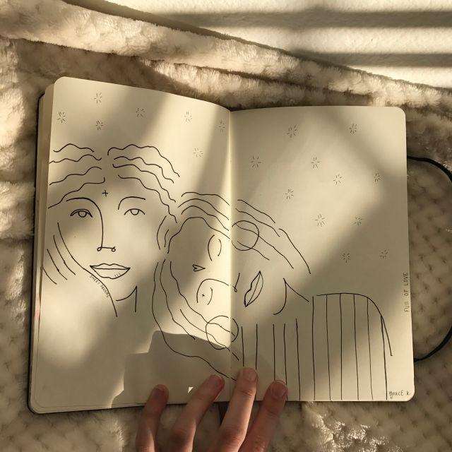 Pin de Eleni P. en Alderamin⭐️ | Arte en cuadernos, Dibujos, Arte