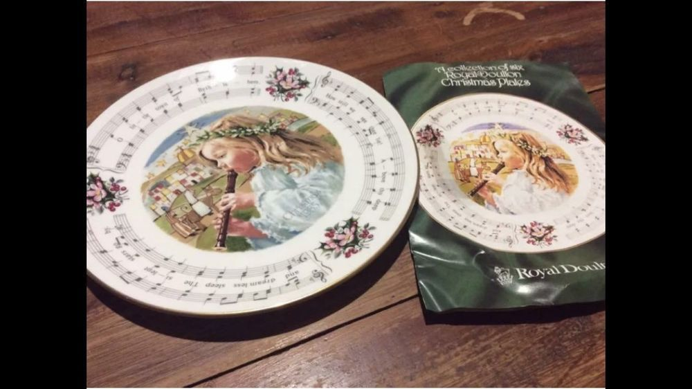 Christmas Plate Collectable Royal Doulton China Vintage Great Condition Ebay Christmas Plates Royal Doulton China All Things Christmas