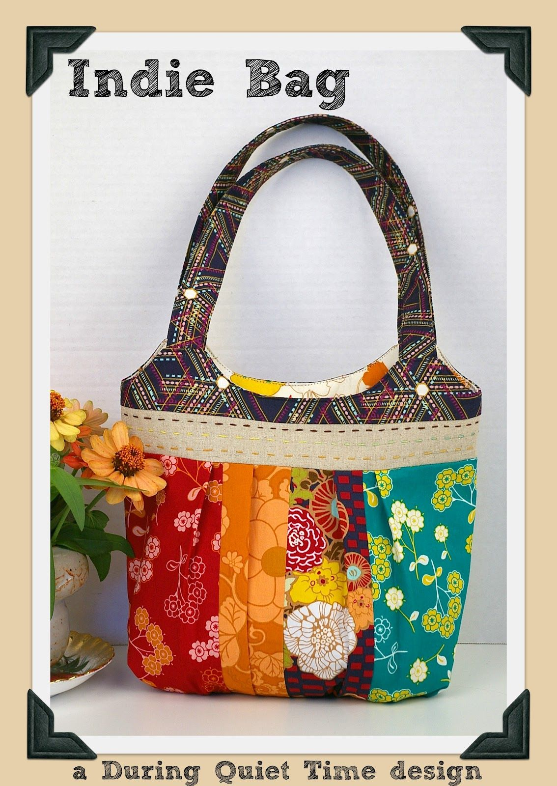 During Quiet Time: Indie Bag-Free Pattern!