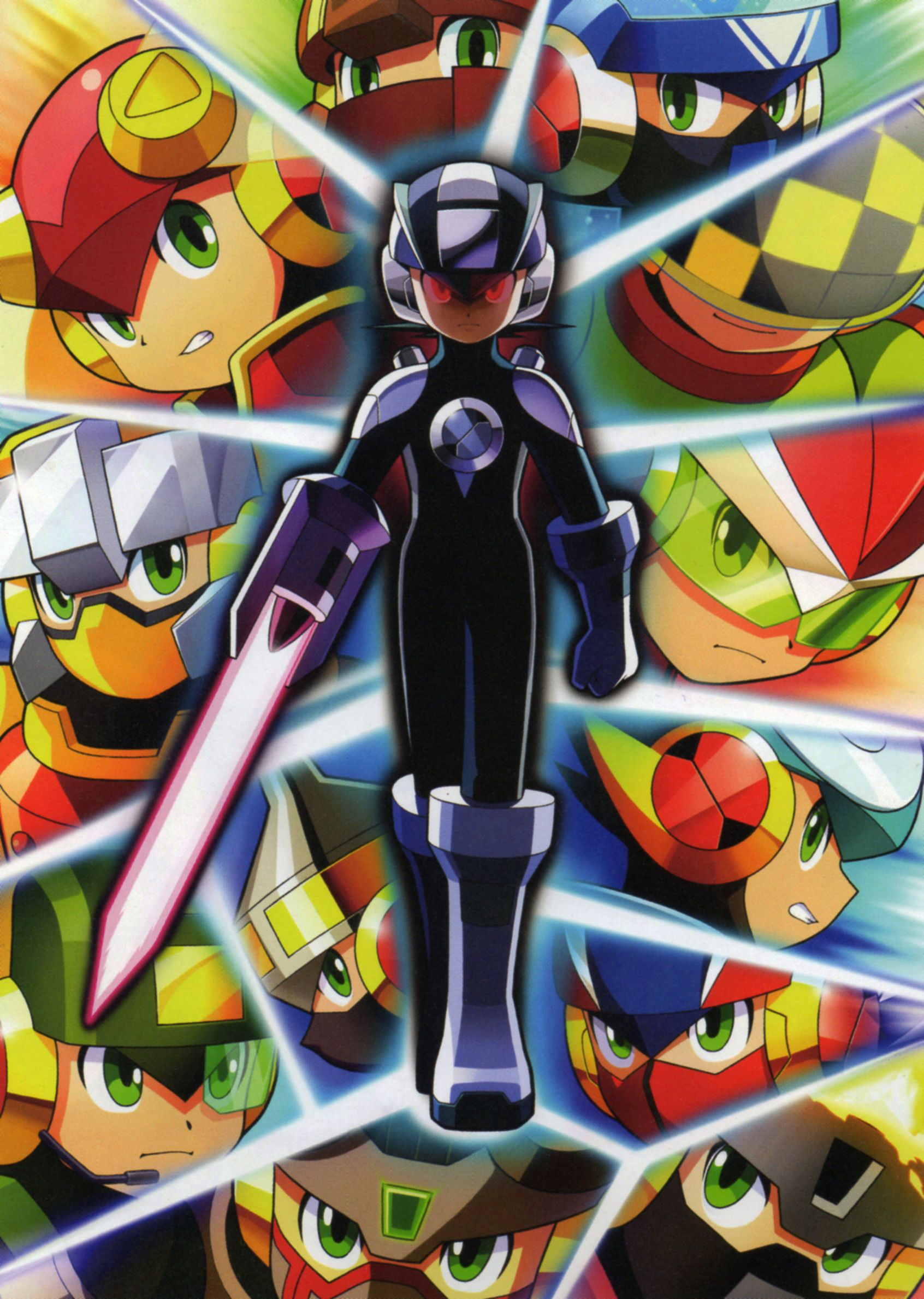 watch megaman nt warrior axess online free
