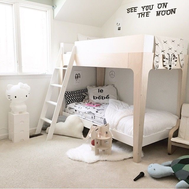 oeuf nyc perch bunk bed #oeuf modern design beds kids rooms