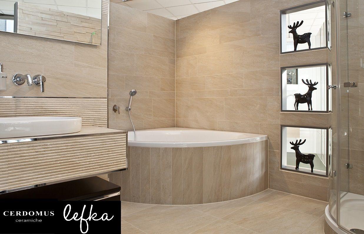 Cerdomus Lefka Gold A Beautiful Bathroom Installation