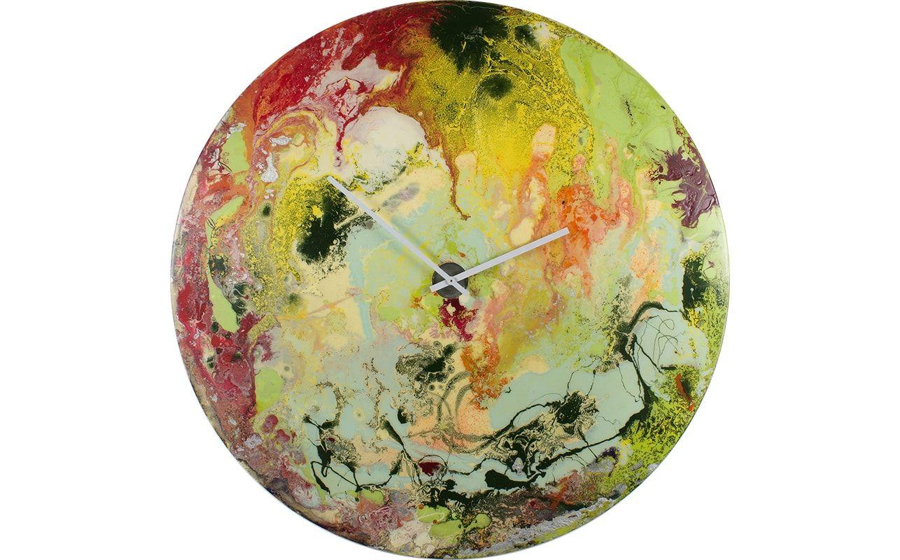 Large Multicoloured Clock | clocks | Pinterest | Contemporary art ...