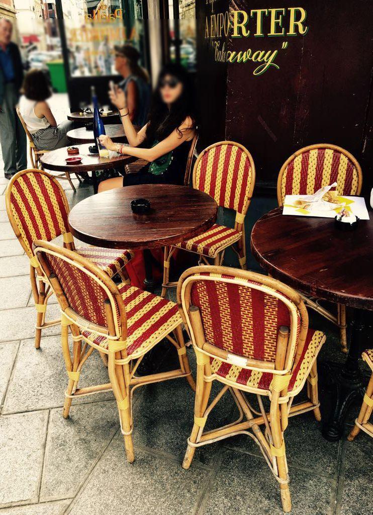 Maison Gatti french bistro chairs   Maison Gatti   Pinterest