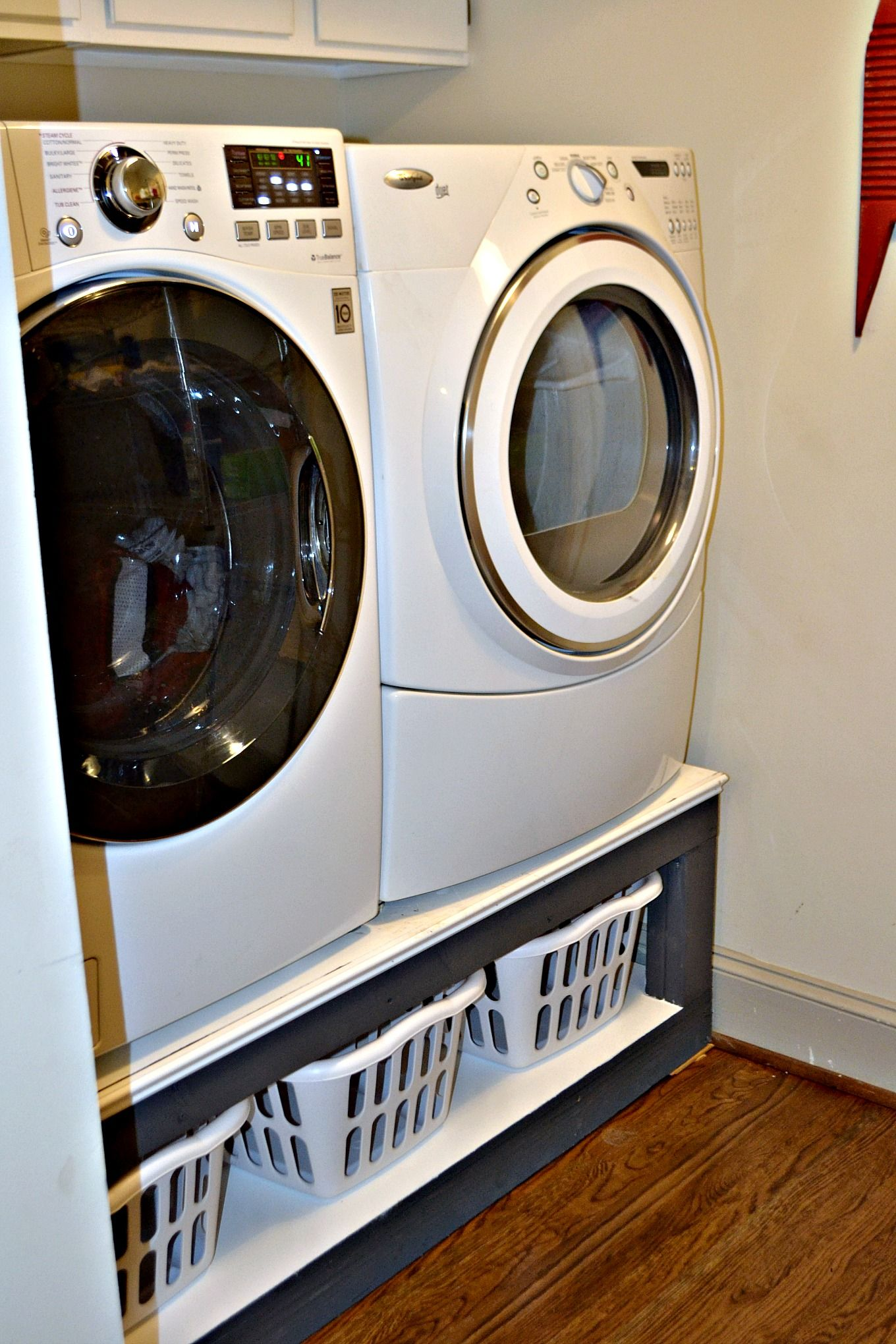 pedestal washer pin diy new pedestals my wife pinterest laundry dryer s and