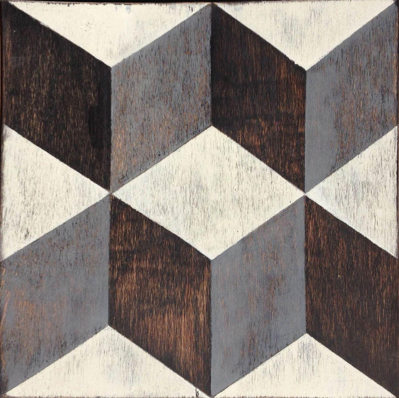 Tumbling blocks hardwood floor tile shops studios and woods tumbling blocks hardwood floor tile dailygadgetfo Choice Image