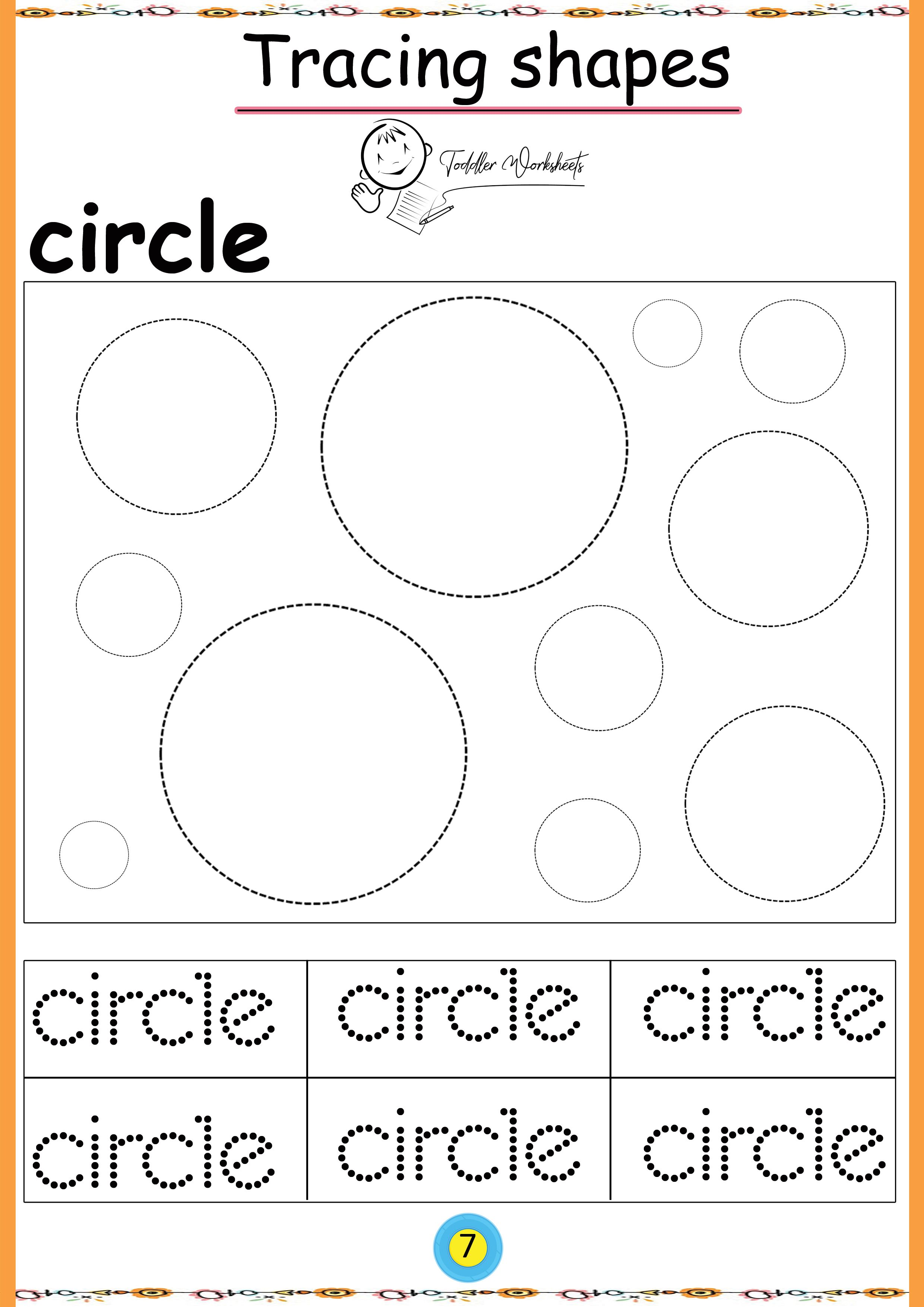 Free Preschool Shapes Worksheets