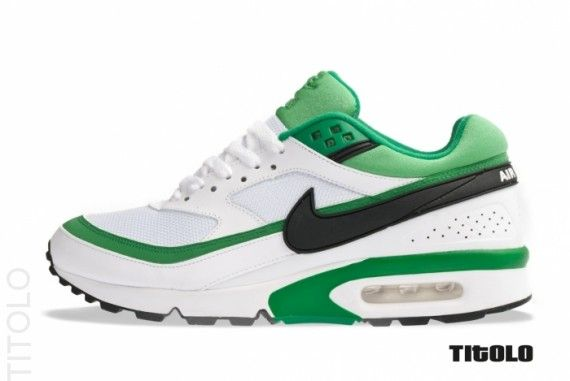 Nike Air Classic Bw White Black Court Green Sneakernews Com Air Max Classic Nike Air Max Nike Air
