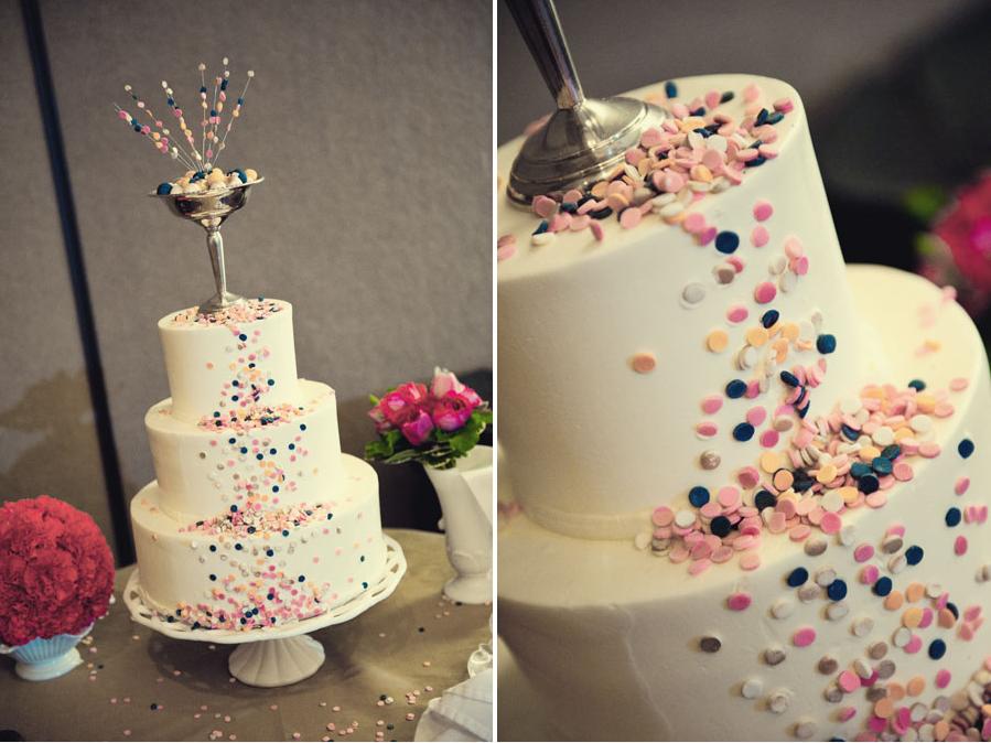 Pinterest Wedding Cakes: Funfetti Wedding Cake... Yummy!