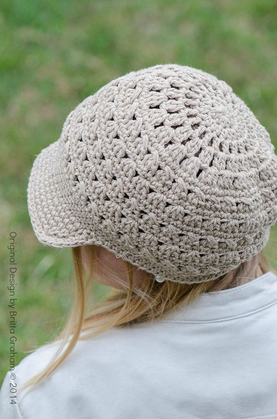 Crochet Hat Pattern Criss Cross Slouchy por bubnutPatterns   Gorros ...