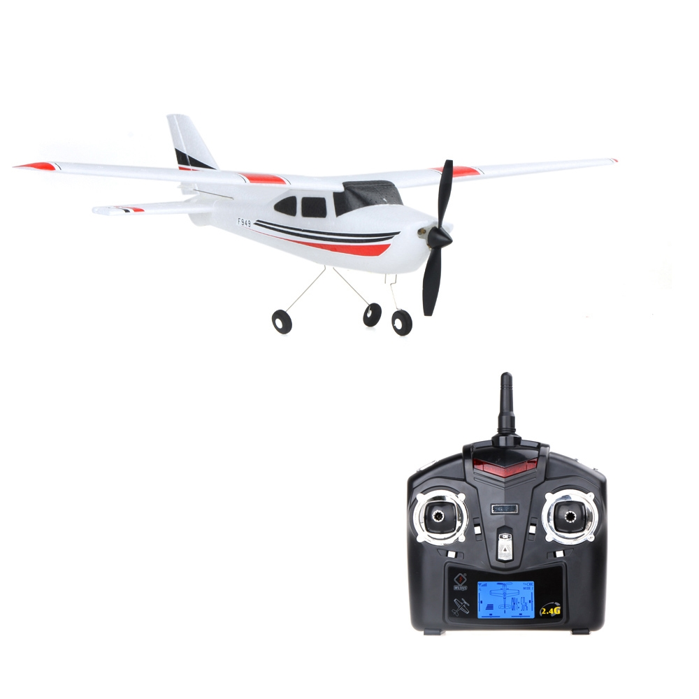 67.11$  Watch here - http://alih7b.worldwells.pw/go.php?t=32478610306 - Original Wltoys F949 RC Airplane Cessna-182 2.4G 3Ch Fixed Wing Drone Plane Control Toys Airplane Aircraft Quadcopter 67.11$