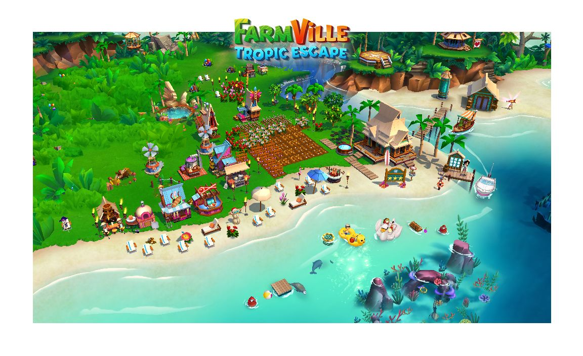 Check Out My Private Paradise In FarmVille: Tropic Escape