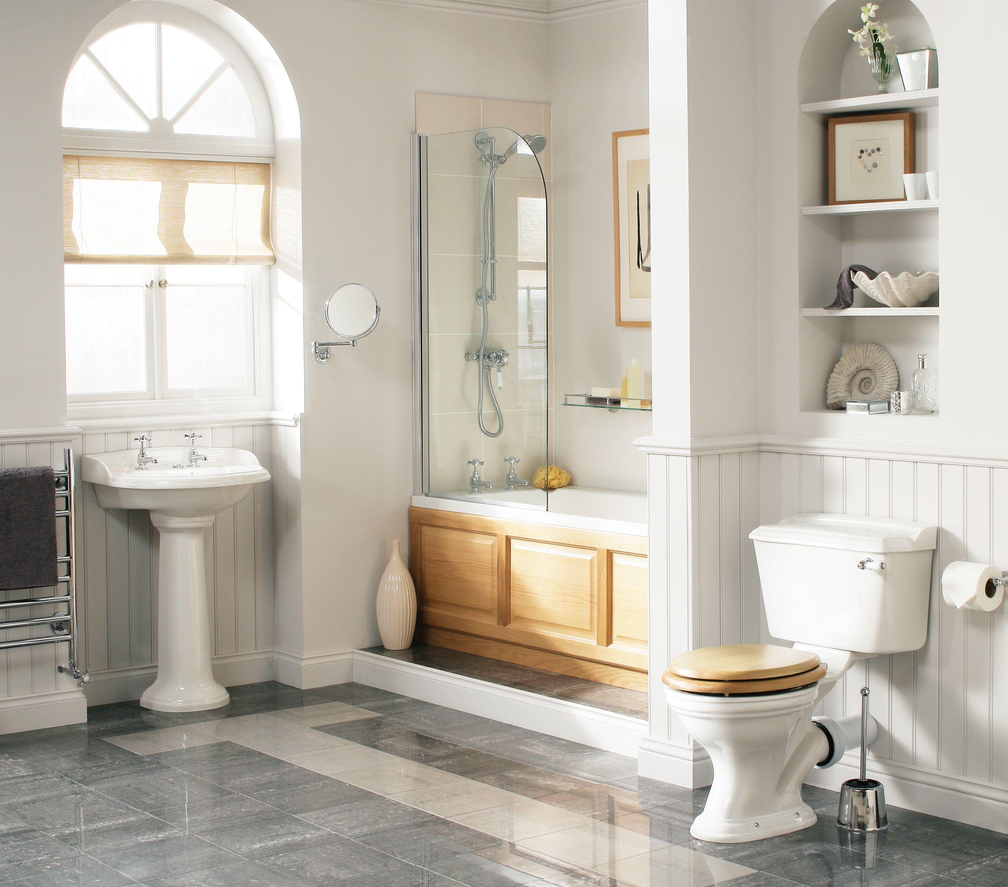Heritage Bathrooms Victoria Bathroom Suite In White: Dorchester Bathroom Suites From Heritage Bathrooms