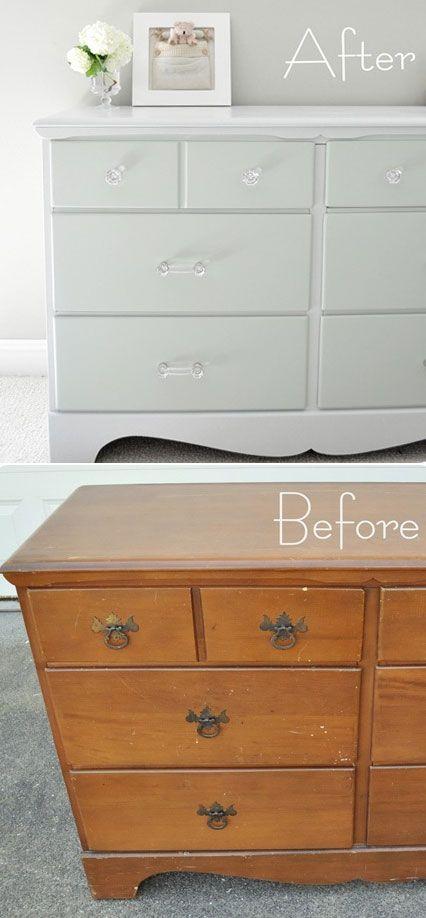 How To Paint Furniture Furniture Diy Redo Furniture Diy Furniture