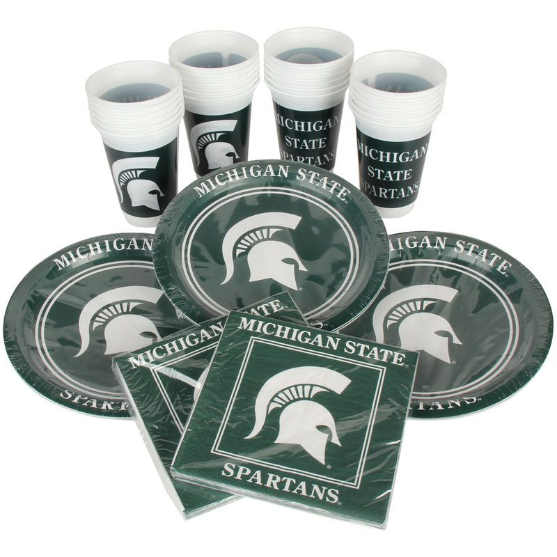 Michigan State Spartans Party Pack for 24