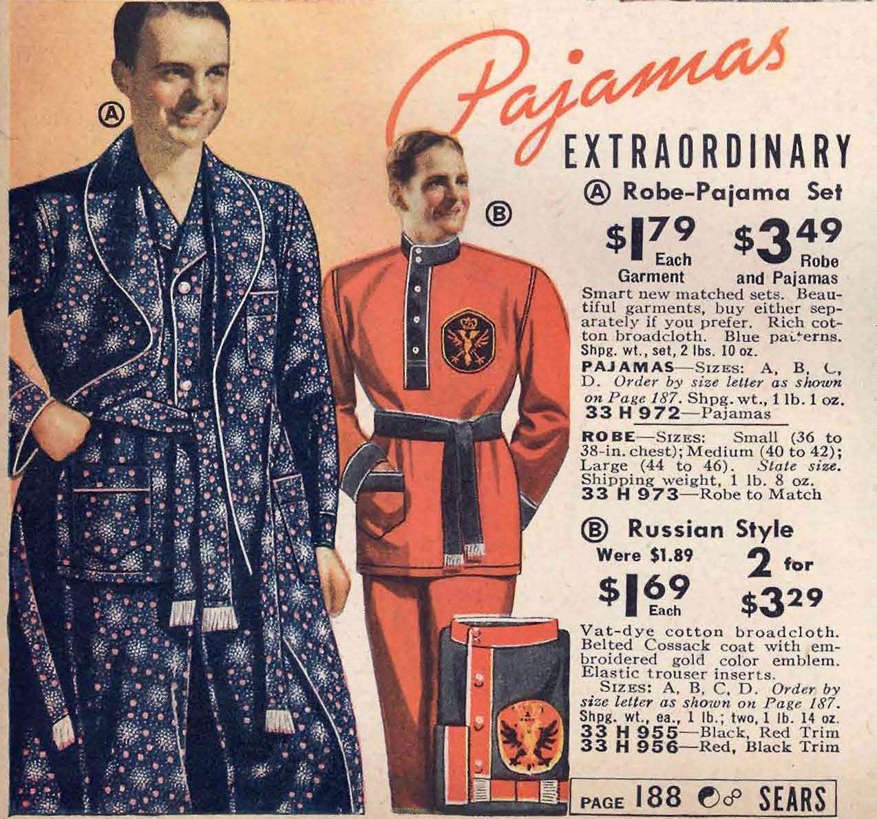 Sears catalog, Spring/Summer 1938.   Men\'s Vintage Fashion   Pinterest