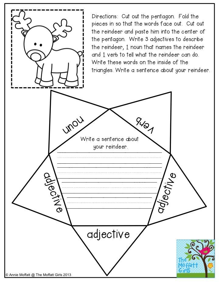 Parts of Speech Foldable- a FUN way to practice nouns, verbs, and ...