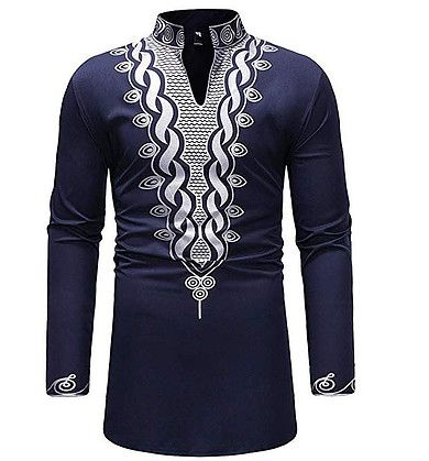 MODOQO T-Shirt for Men,Summer Loose Fit Print Regular-Fit Short Sleeve Tops Blouses
