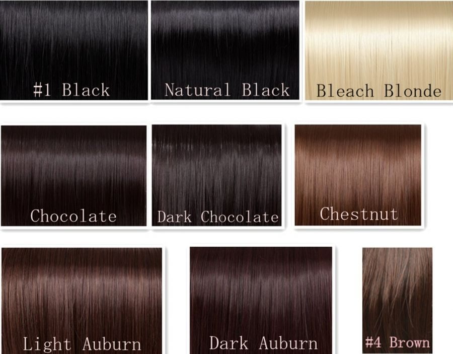 Chocolate Brown Hair Color Chart  Best Hair Color For Black