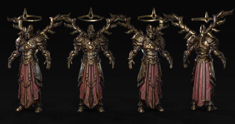 Artstation Diablo 3 Imperius Yun Sung Jang In 2020