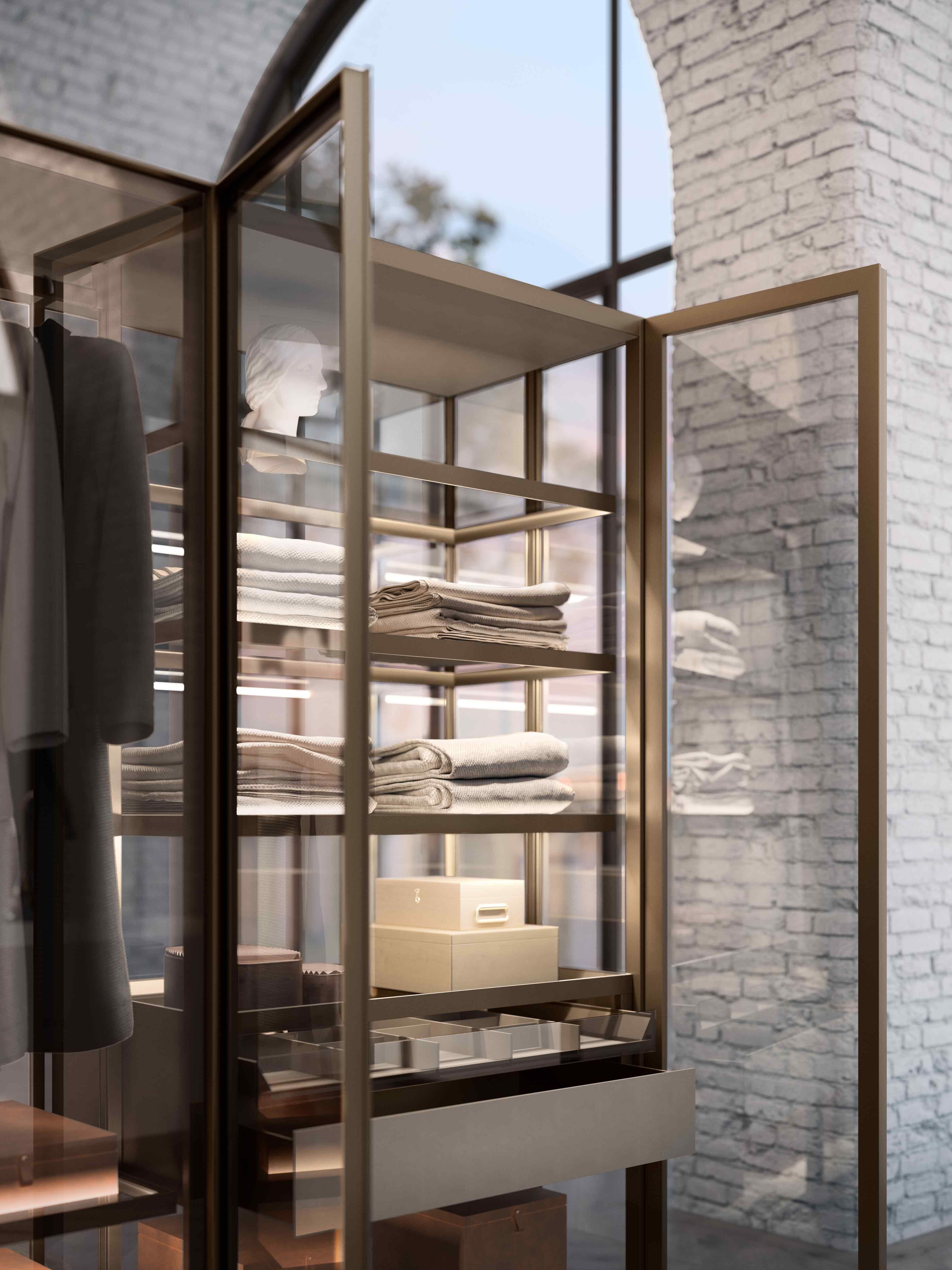 Photo of Armadio in vetro – Collezione bagno Isola, Itlas