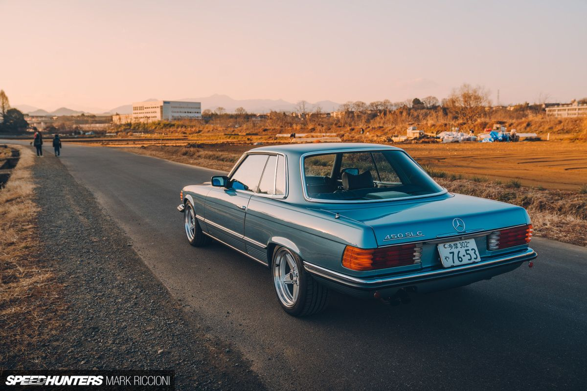 Open Wide: The 2JZ-Swapped 450 SLC - Speedhunters