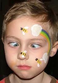 kinderschminken biene