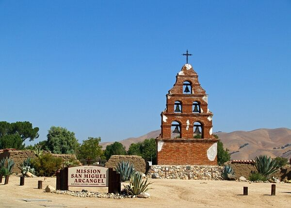Mission San Miguel Arcangel | The Golden State in 2019 ...