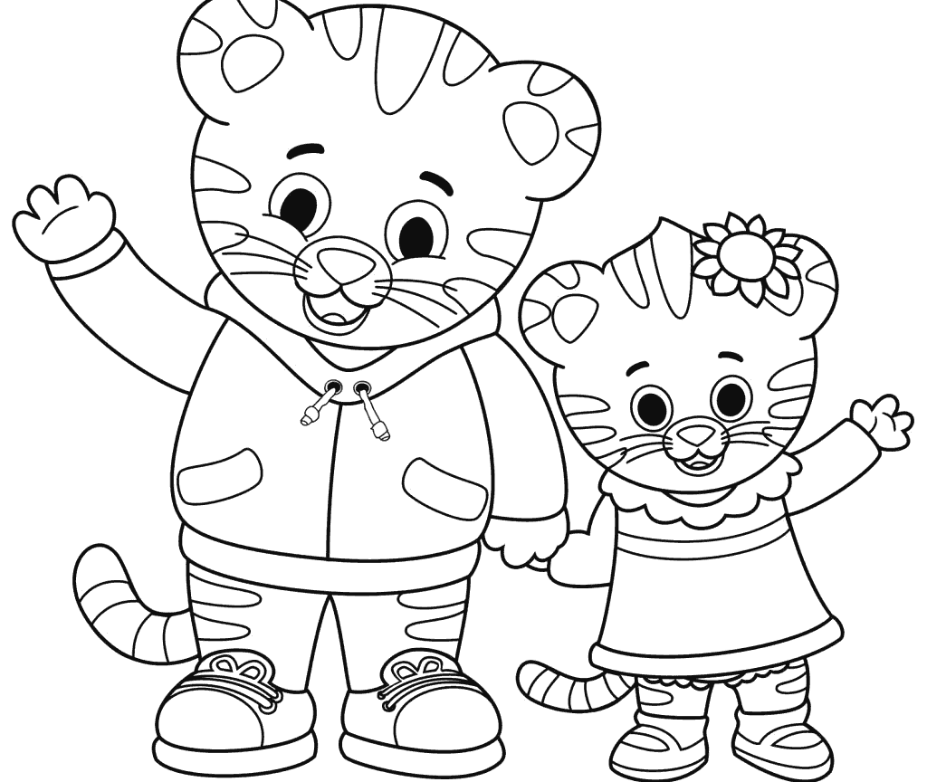 29+ Daniel tiger christmas coloring pages ideas in 2021