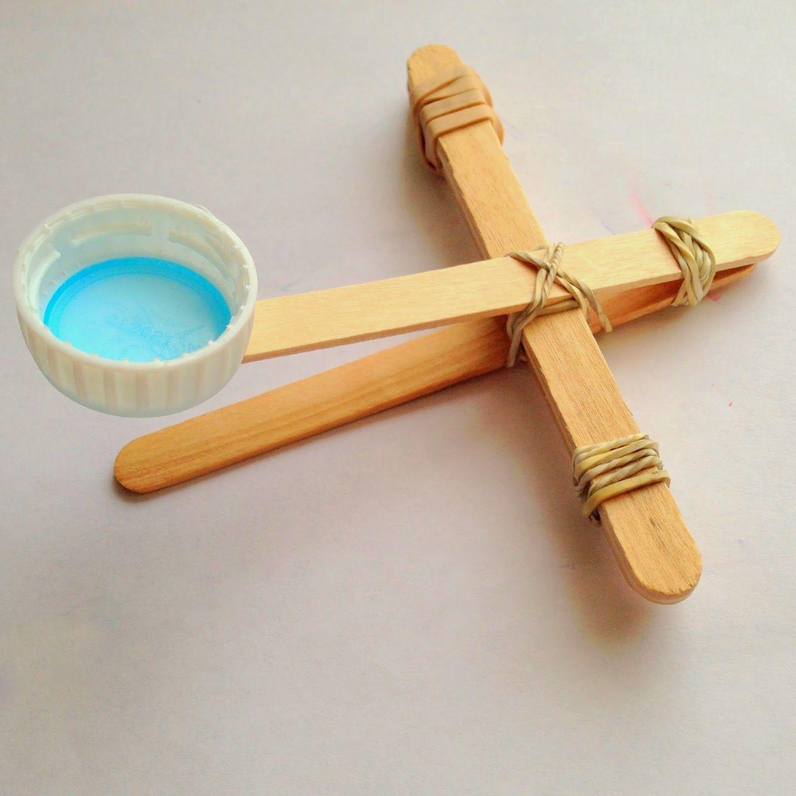Popsicle stick catapult @ whatilivefor.net … | Catapult ...