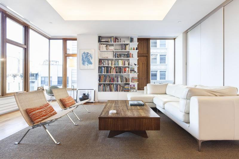 contemporary soho apartment in new york displays divine proportion