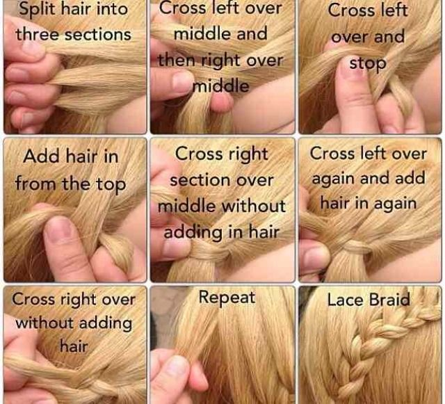 How To Do An Elegant Lace Braid