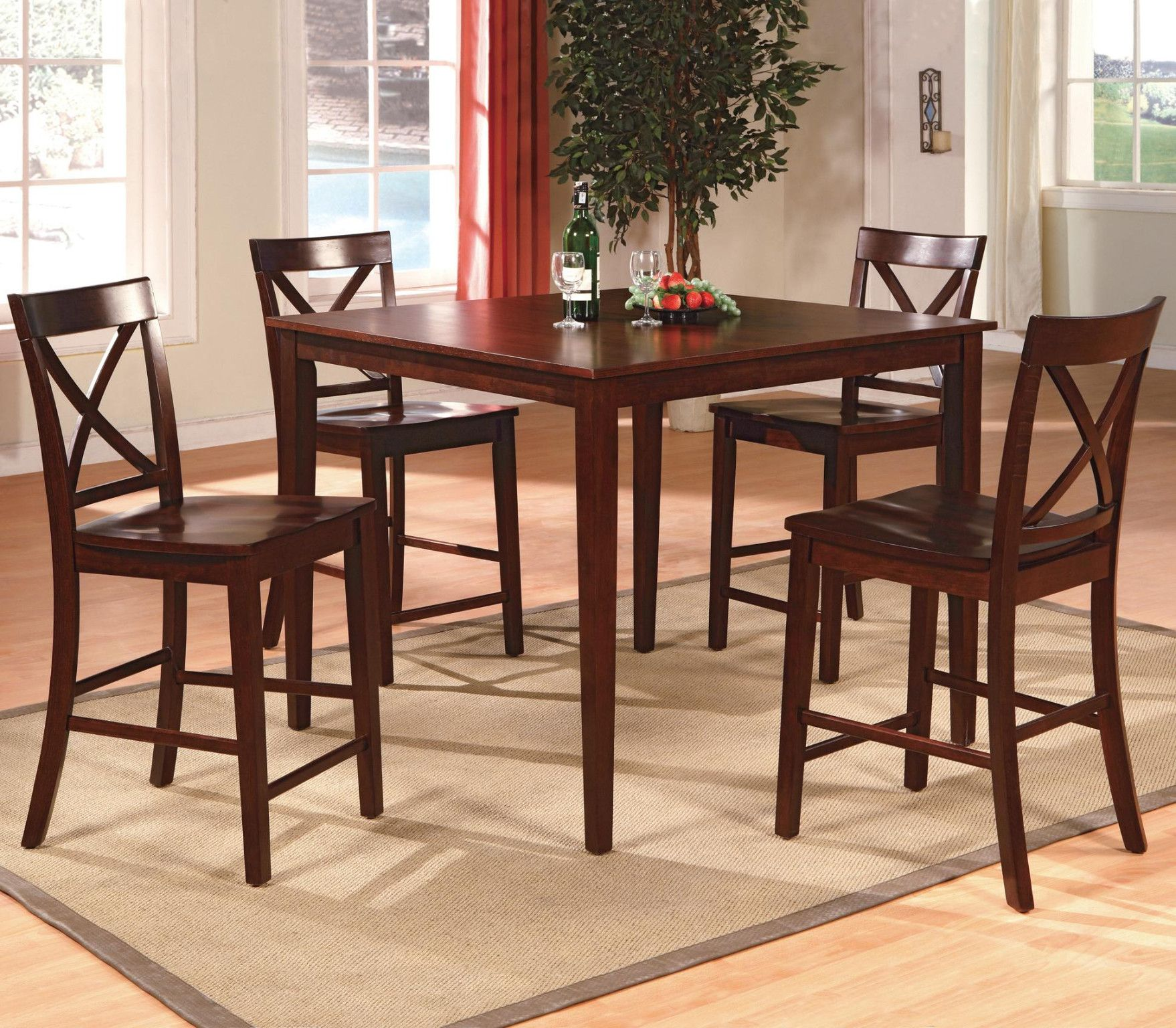 Theodore 5 Piece Counter Height Table And 4 Chairs 399 00 Table