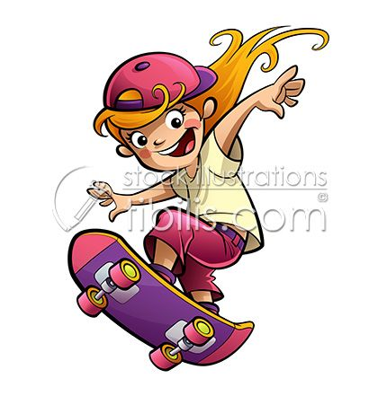 Skateboarding Time At Http Tibilis Com Site Stock With