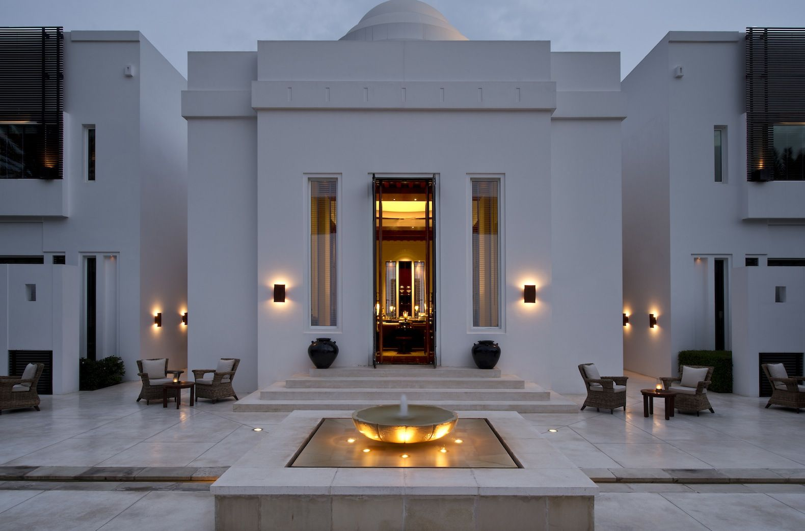 The Chedi Muscat Oman Islamic House Modern Mansion The Chedi
