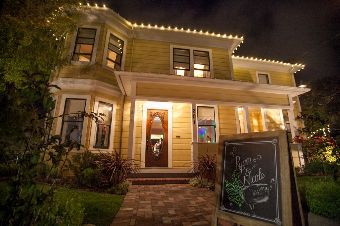 The Perry House, wedding & event venue in Monterey CA