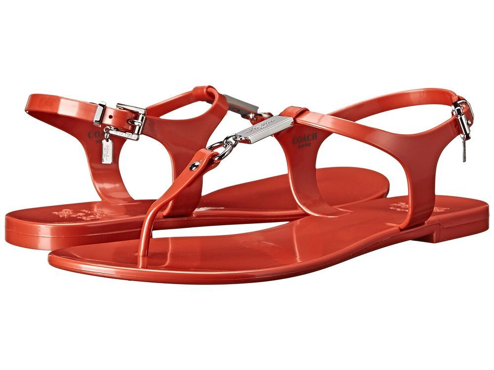 Coach Plato Women's Sandals Spring Summer Fashion Shoes Casual Thong Flip  Flops