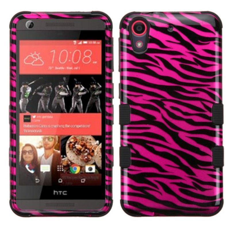 Insten Tuff hard PC Silicone Dual Layer Hybrid Rubberized Matte Case Cover For HTC Desire 626/626s