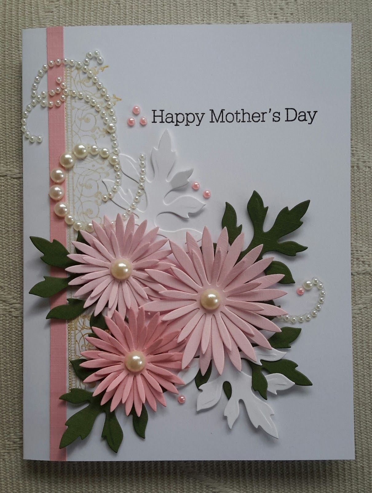 Contagiously crafty a delicate aster kind of card cards u crafts