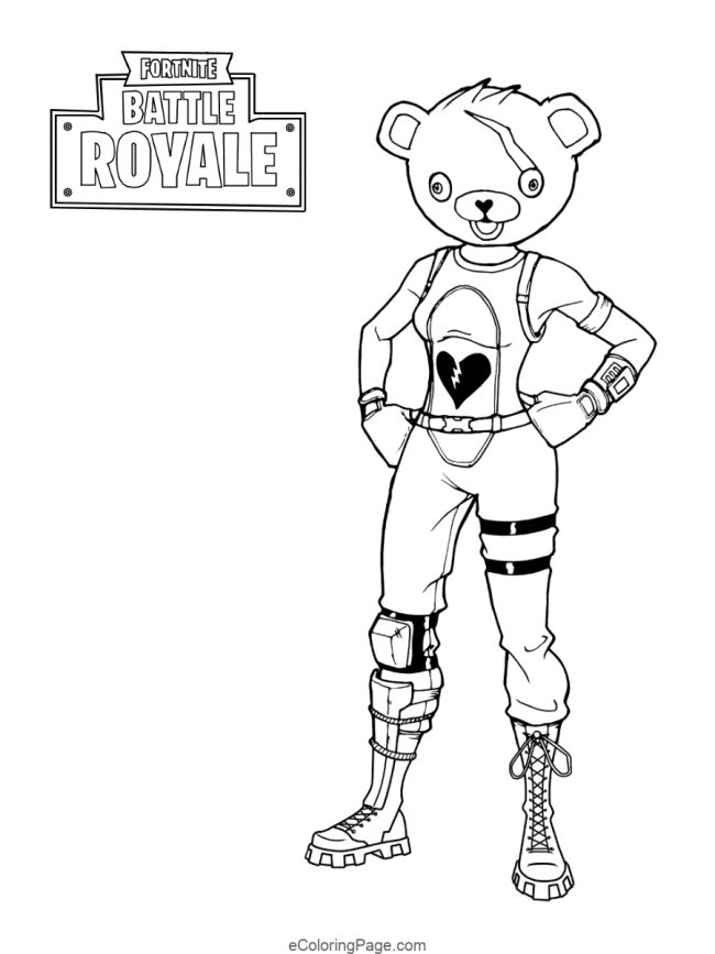 Fortnite Coloring Pages You Can Print Design