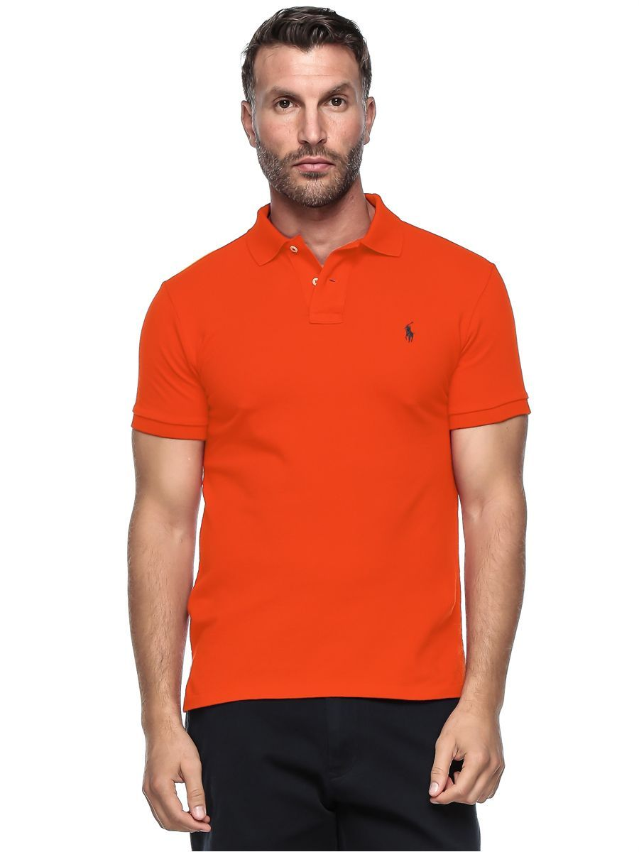 Polo Ralph Lauren Custom Fit Short Sleeve Mesh Polo Shirt For Men - Medium,  Orange, price, review and buy in Dubai, Abu Dhabi and rest of United Arab  ...