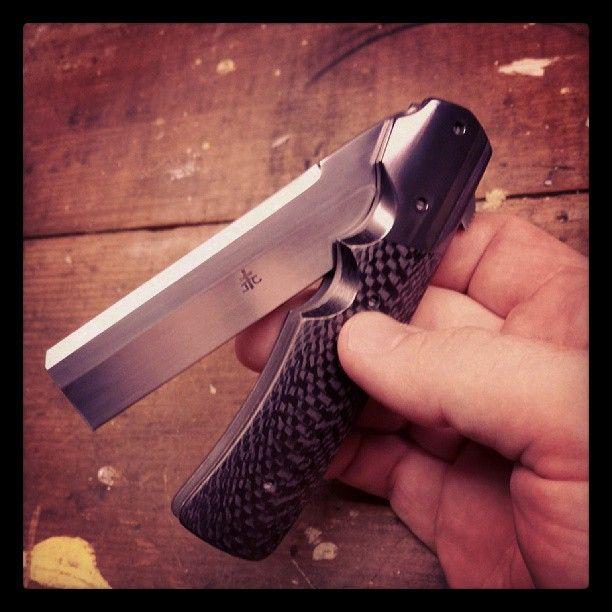 Photo from arizonacustomknives | Knives | Folding knives, Knife