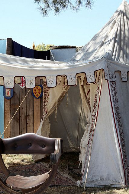50+ Medieval tent info